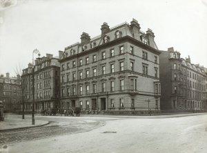 1-7 Arlington (ca. 1880); courtesy of Historic New England