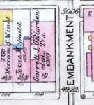 1928 Bromley map