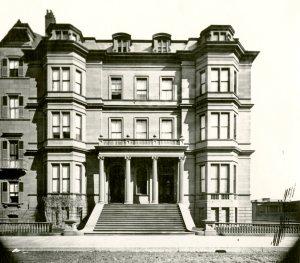 100-102 Beacon (ca. 1867), photograph by Josiah Johnson Hawes, courtesy of the Boston Athenaeum