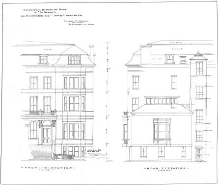 Beac 100 - Front and Rear Elevation - BPL - BW 1