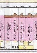 1888 Bromley map: 169-175 Beacon