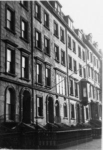 103-111 Beacon (ca. 1942), photograph by Bainbridge Bunting, courtesy of The Gleason Partnership