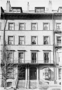 112-114 Beacon (ca. 1942), photograph by Bainbridge Bunting, courtesy of The Gleason Partnership