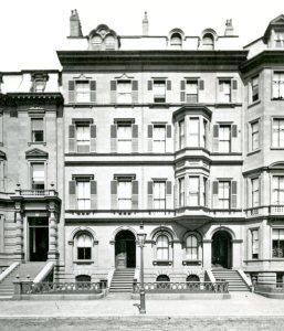 122-124 Beacon (ca. 1867), photograph by Josiah Johnson Hawes, courtesy of the Boston Athenaeum