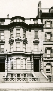 126 Beacon (ca. 1867), detail from photograph by Josiah Johnson Hawes, courtesy of the Boston Athenaeum