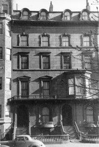 127-129 Beacon (ca. 1942), photograph by Bainbridge Bunting, courtesy of The Gleason Partnership