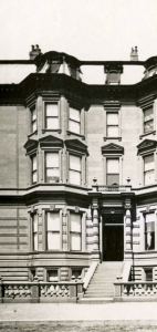 128 Beacon (ca. 1867), detail from photograph by Josiah Johnson Hawes, courtesy of the Boston Athenaeum
