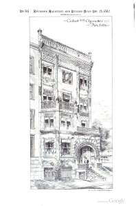 166 Beacon; American Architect and Builders News, 25Nov1882