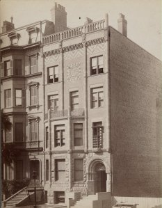 166 Beacon (ca. 1885); courtesy of the Print Department, Boston Public Library