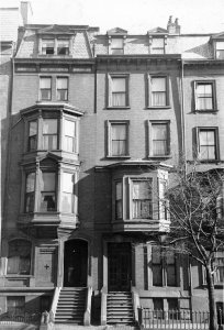 177-179 Beacon (ca. 1942), photograph by Bainbridge Bunting, courtesy of The Gleason Partnership