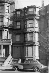 187 Beacon (ca. 1942), photograph by Bainbridge Bunting, courtesy of The Gleason Partnership