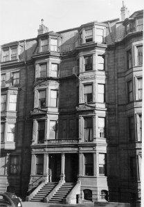 193-195 Beacon (ca. 1942), photograph by Bainbridge Bunting, courtesy of The Gleason Partnership