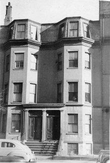 245-247 Beacon (ca. 1942), photograph by Bainbridge Bunting, courtesy of The Gleason Partnership