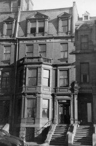 289 Beacon (ca. 1942), photograph by Bainbridge Bunting, courtesy of The Gleason Partnership
