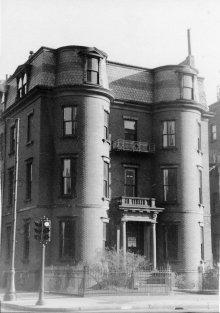 299 Beacon (ca. 1942), photograph by Bainbridge Bunting, courtesy of The Gleason Partnership