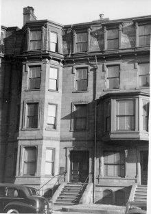 311 Beacon (ca. 1942), photograph by Bainbridge Bunting, courtesy of The Gleason Partnership