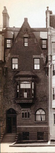 328 Beacon (ca. 1891); detail from photograph by Soule Photograph Company, courtesy of Historic New England