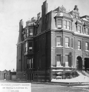 332 Beacon (ca. 1905); courtesy of the Bostonian Society