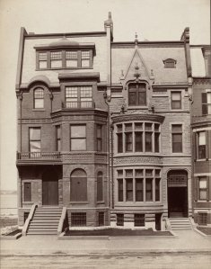 344-346 Beacon (ca. 1885); courtesy of the Print Department, Boston Public Library