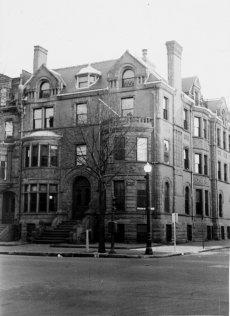 347 Beacon (ca. 1942), photograph by Bainbridge Bunting, courtesy of The Gleason Partnership