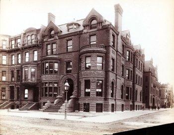 345-347 Beacon (ca. 1885); Soule Photograph Company, courtesy of Historic New England