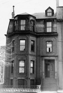 351 Beacon (ca. 1942), photograph by Bainbridge Bunting, courtesy of The Gleason Partnership