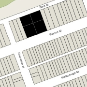 Combined Lot: 144.77' x 150' (21,715 sf)