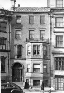 414 Beacon (ca. 1942), photograph by Bainbridge Bunting, courtesy of The Gleason Partnership