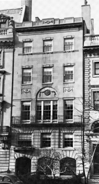 422 Beacon (ca. 1942), photograph by Bainbridge Bunting, courtesy of the Boston Athenaeum