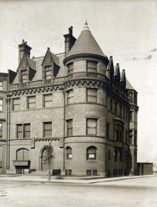 448 Beacon (ca. 1919), courtesy of the Bostonian Society
