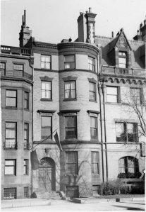 450 Beacon (ca. 1942), photograph by Bainbridge Bunting, courtesy of The Gleason Partnership