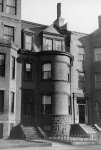 451 Beacon (ca. 1942), photograph by Bainbridge Bunting, courtesy of The Gleason Partnership