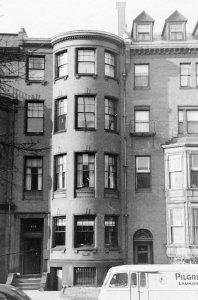 464 Beacon (ca. 1942), photograph by Bainbridge Bunting, courtesy of The Gleason Partnership