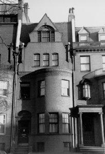 465 Beacon (ca. 1942), photograph by Bainbridge Bunting, courtesy of The Gleason Partnership