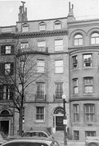 476 Beacon (ca. 1942), photograph by Bainbridge Bunting, courtesy of The Gleason Partnership