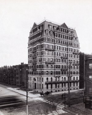 483 Beacon (ca. 1900), courtesy of Historic New England