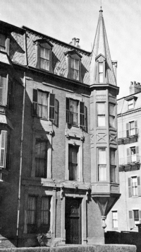 304 Berkeley (ca. 1942), photograph by Bainbridge Bunting, courtesy of the Boston Athenaeum