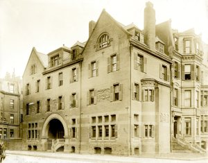 233 Clarendon (ca. 1895), courtesy of the Boston Athenaeum