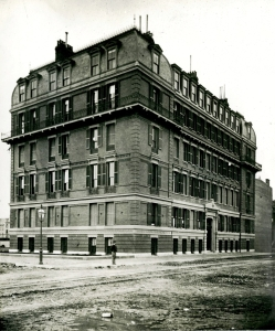 260 Clarendon (ca. 1869), photograph by Josiah Johnson Hawes, courtesy of the Boston Athenaeum