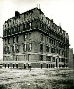 260 Clarendon (ca. 1869), photograph by Josiah Johnson Hawes, courtesy of the Boston Athenaeum