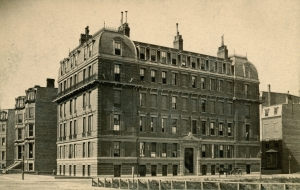 260 Clarendon (ca. 1873), courtesy of the Bostonian Society