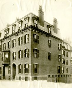 263-265 Clarendon (prob. ca. 1900), courtesy of the Boston Athenaeum