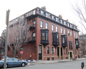 273-279 Clarendon, looking south (2013)