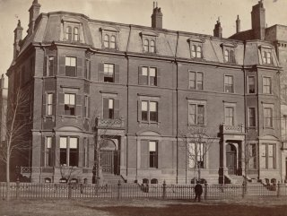 3-5 Commonwealth (ca. 1870), photograph by Frederick M. Smith, II; courtesy of the Print Department, Boston Public Library