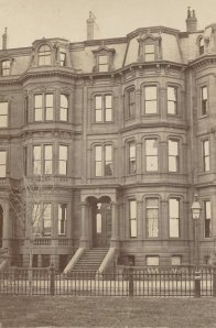 6 Commonwealth (ca. 1870), photograph by Frederick M. Smith, II; courtesy of the Print Department, Boston Public Library