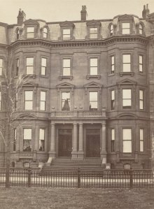 8-10 Commonwealth (ca. 1870), photograph by Frederick M. Smith, II; courtesy of the Print Department, Boston Public Library