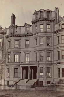 11-13 Commonwealth (ca. 1870), photograph by Frederick M. Smith, II; courtesy of the Print Department, Boston Public Library
