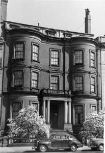 15 Commonwealth (ca. 1942), photograph by Bainbridge Bunting, courtesy of The Gleason Partnership
