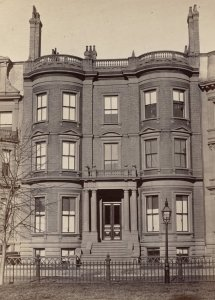 15 Commonwealth (ca. 1870), photograph by Frederick M. Smith, II; courtesy of the Print Department, Boston Public Library