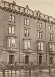 20-24 Commonwealth (ca. 1870), photograph by Frederick M. Smith, II; courtesy of the Print Department, Boston Public Library